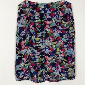 Doncaster Collection 100% silk skirt, size 14